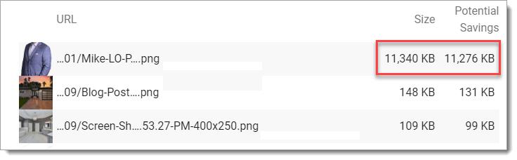 image compression savings