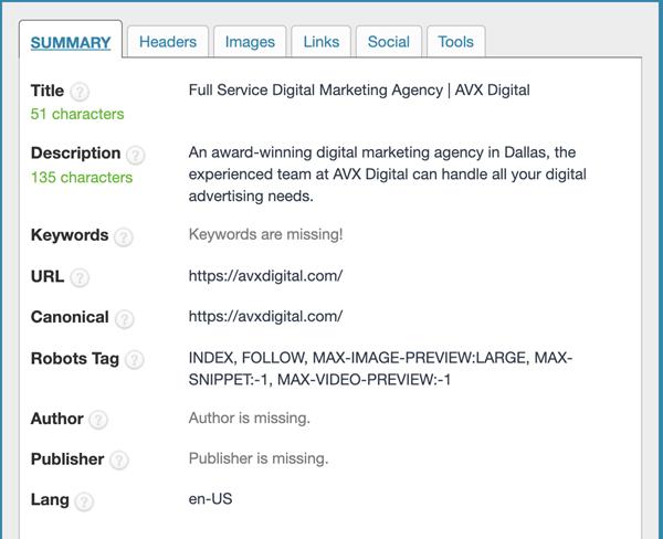 seo meta in 1 click tool for seo
